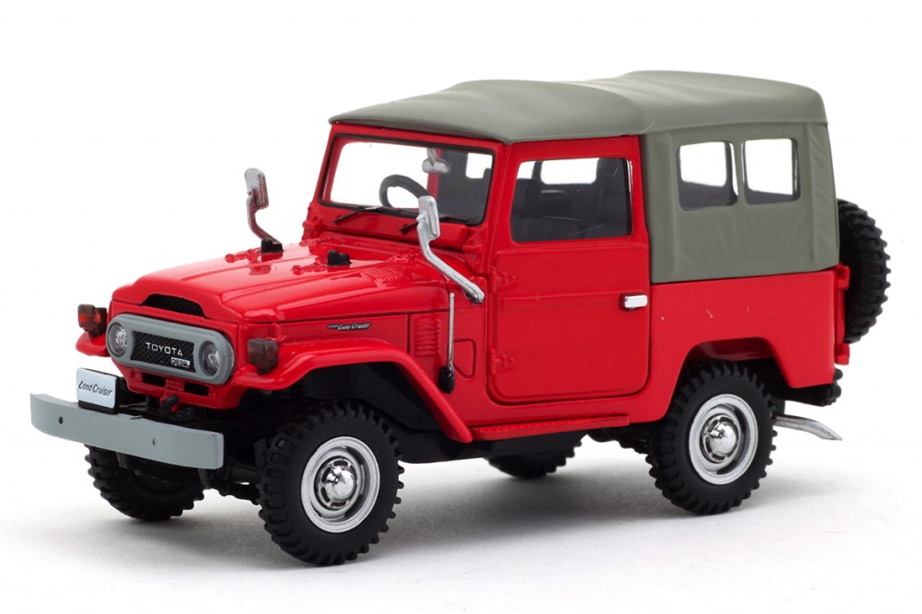 Ebbro - BJ40 - Red - 01