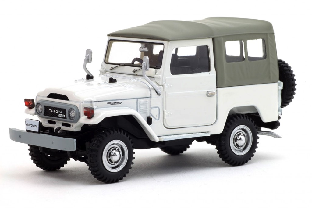 Ebbro - BJ40 - White - 01