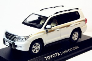 Kyosho - LC200 - White stripped