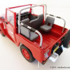 Zoom : Toyota Land Cruiser Série 4 Pompiers «Chessy les Mines» par Norev
