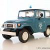 Zoom : Toyota Land Cruiser Série 4 «Police Grecque» par De Agostini